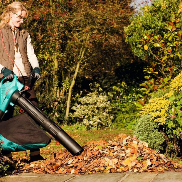 Porządek w ogrodzie jesienią. Pomocne odkurzacze i dmuchawy do liści
