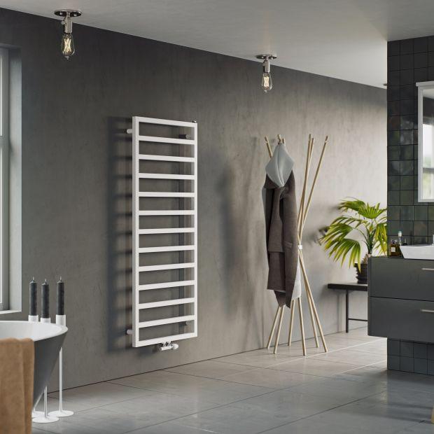 Grzejniki łazienkowe: 7 ciekawych modeli