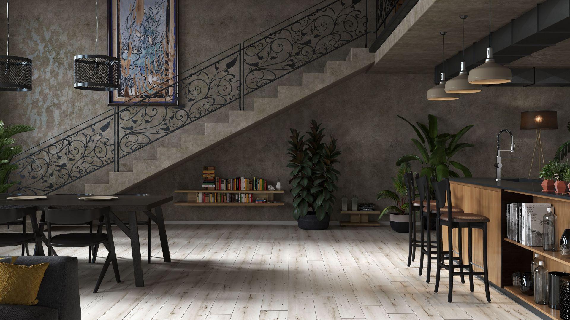 Podłoga laminowana Arteo Dąb Porto  to panele o różnych długościach i szerokościach. Fot. Classen / RuckZuck