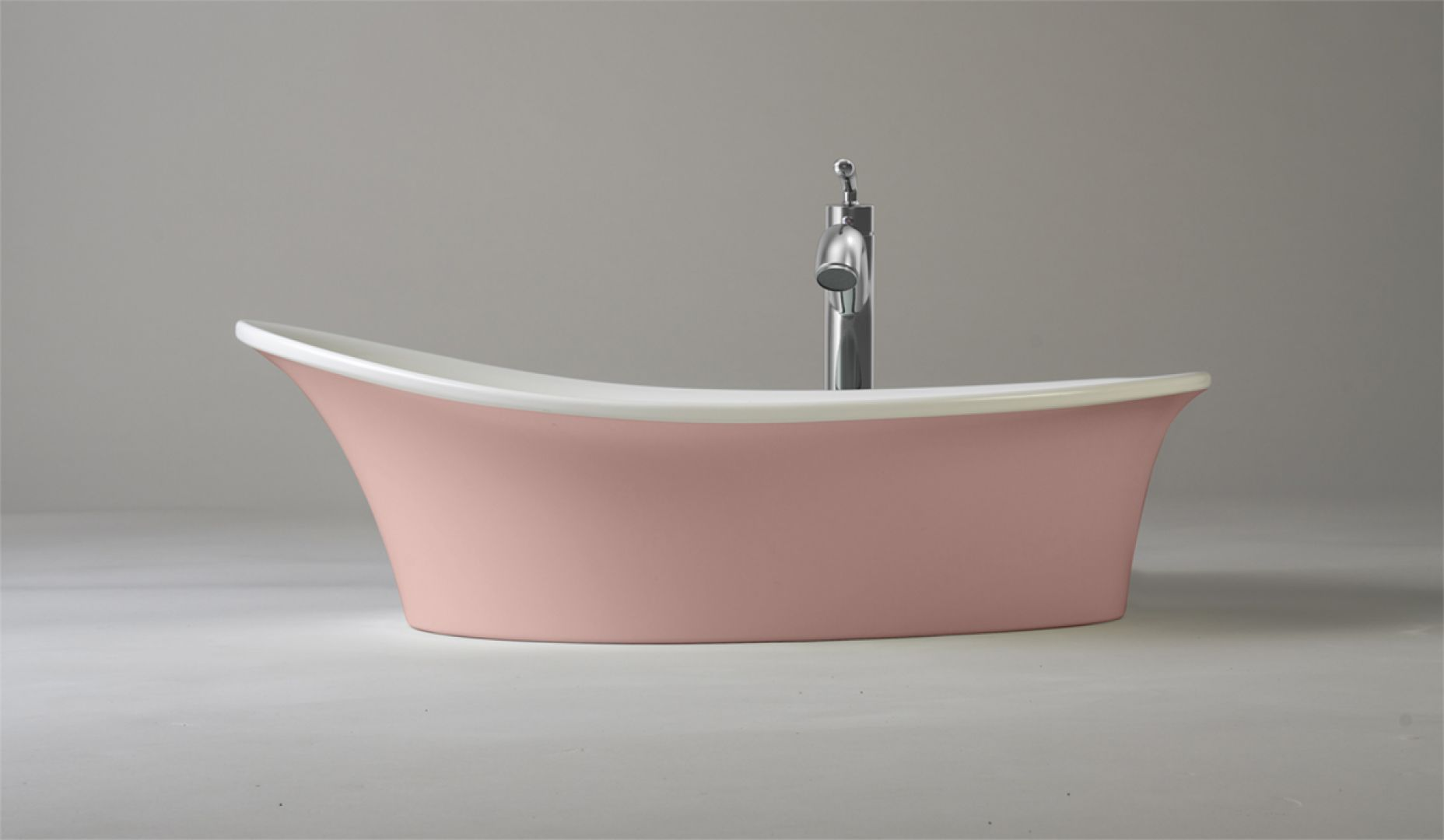 Umywalka nablatowa Ravon Euphoria/Ravon. Produkt zgłoszony do konkursu Dobry Design 2020.