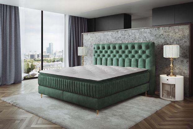 Luksusowe łóżko kontynentalne to sposób na sypialnię w wyrafinowanym stylu.