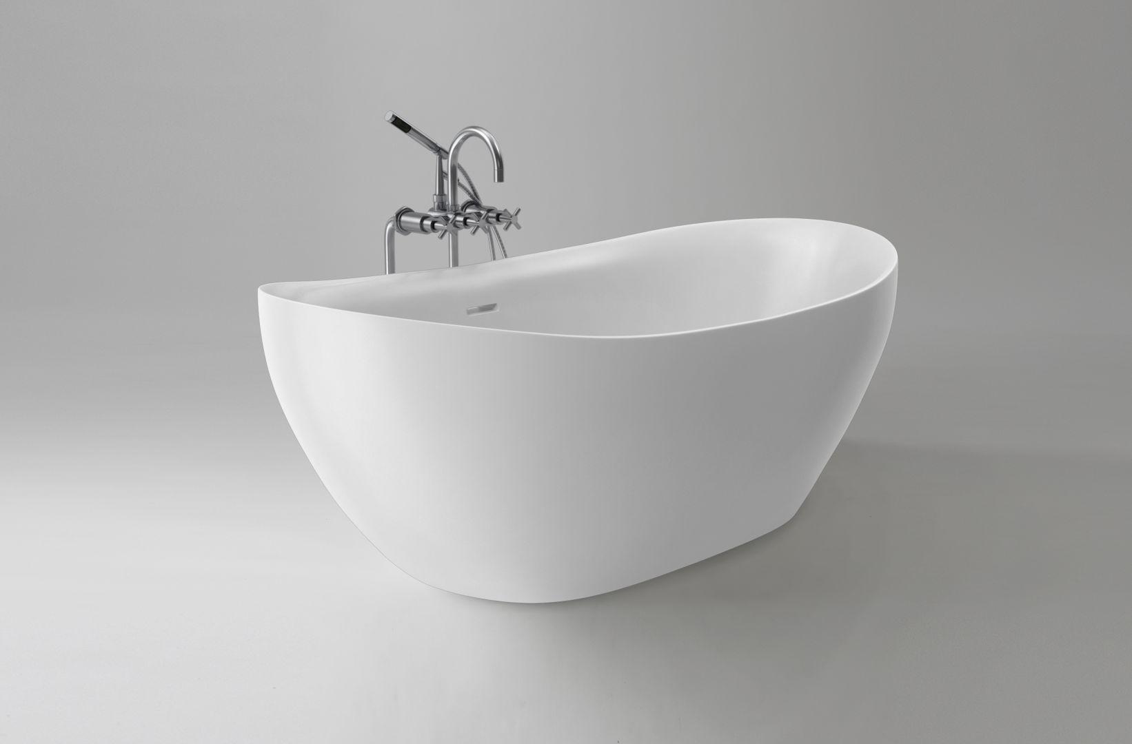 Wanna wolnostojąca Ravon Tulipano/Ravon.  Produkt zgłoszony do konkursu Dobry Design 2020.