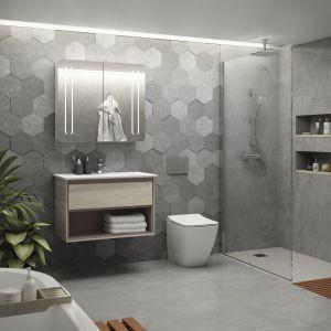 Miska w.c. z serii Strada II wyposażona w efektywny system spłukiwania AquaBlade zapewniający maksymalną higienę toalety. Fot. Ideal Standard
