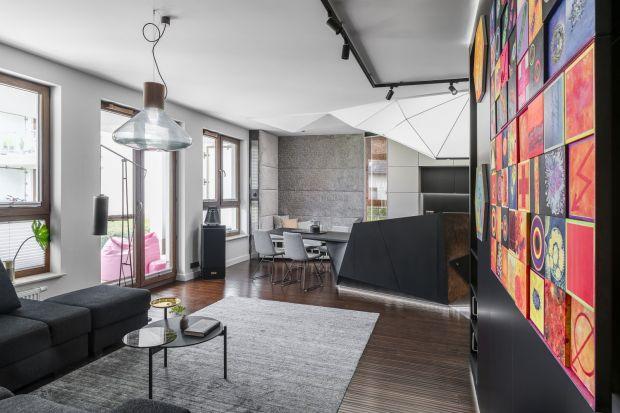 Apartament w Gdyni - piękne, artystyczne wnętrze