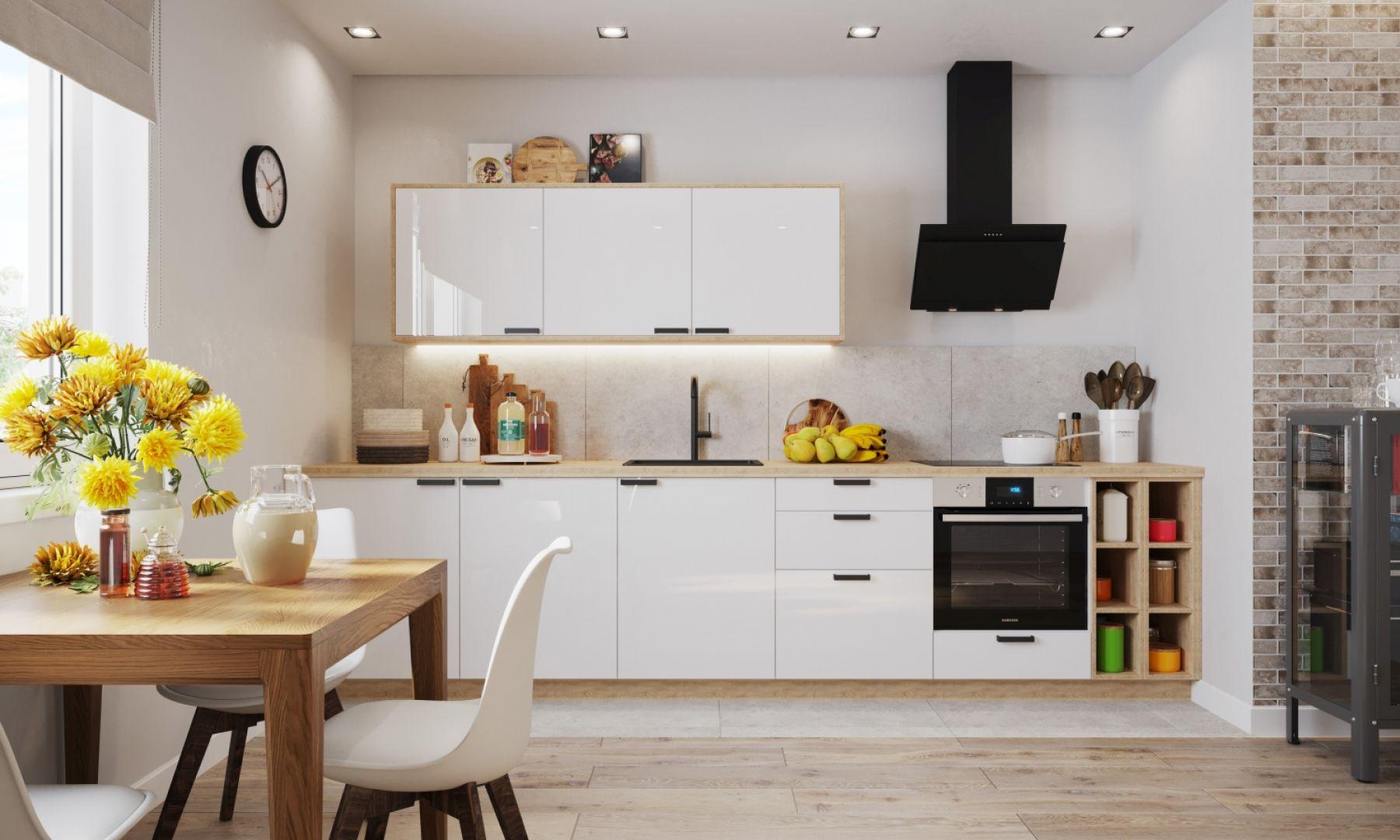 Meble do kuchni urządzonej w stylu nowoczesnym. Fot. Salony Agata