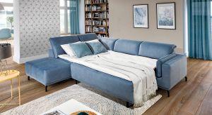 Lubimy sofy i narożniki z funkcją spania. To bowiem meble wielofunkcyjne, które doskonale sprawdzą się także w niewielkim salonie.