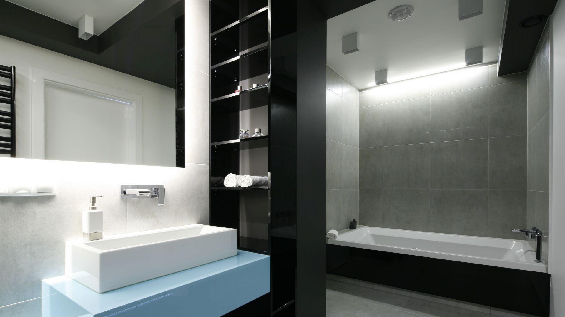 Nowoczesna łazienka Gotowe Projekty Z Polskich Domów