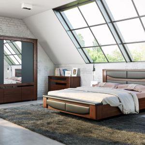 Szafa do sypialni z kolekcji Riva dostępna w ofercie firmy Mebin. Fot. Mebin