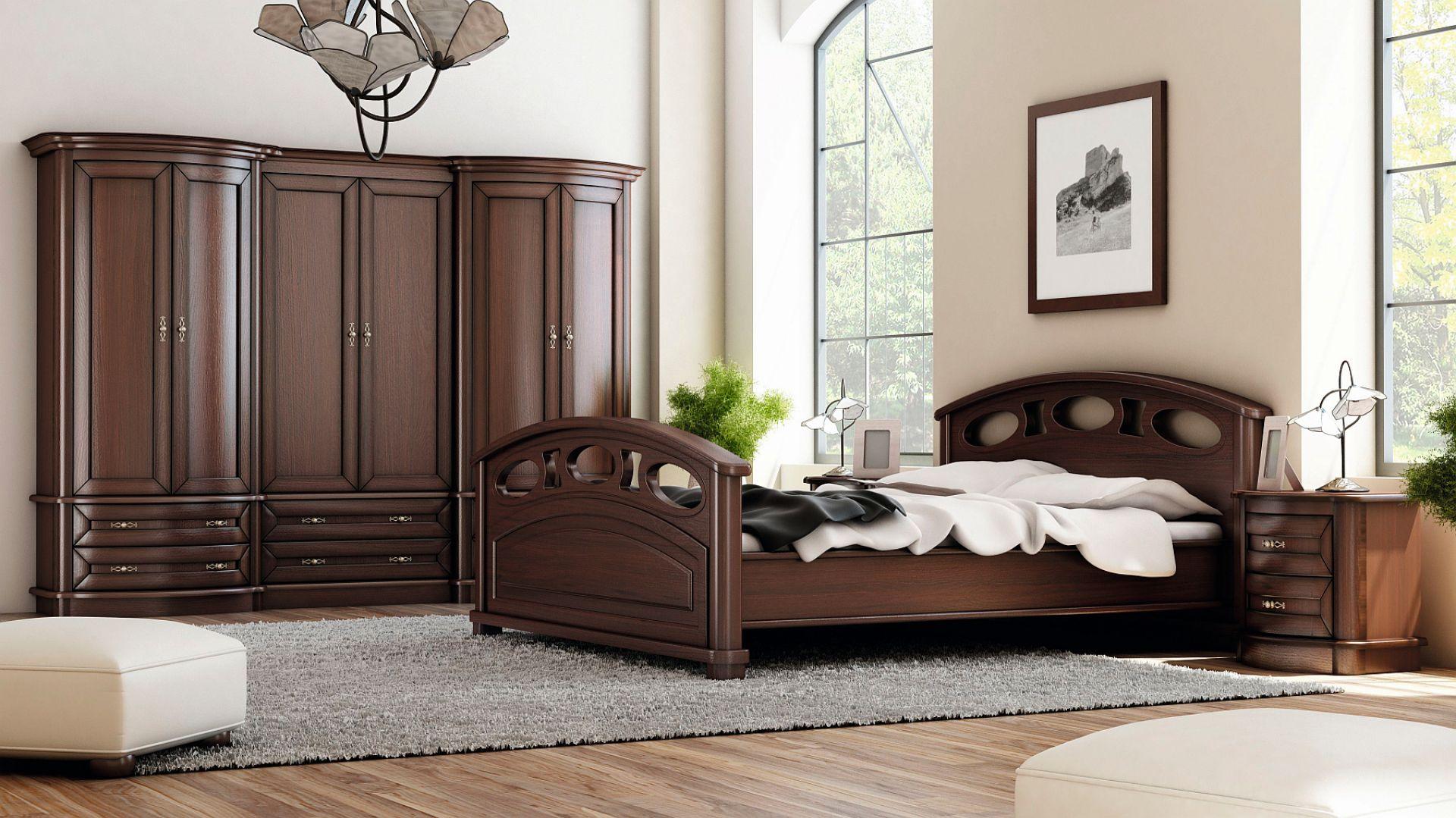 Szafa do sypialni z kolekcji Diana dostępna w ofercie firmy Meble Olejnikowski. Fot. Meble Olejnikowski