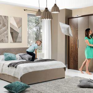 Szafa do sypialni z kolekcji Solle dostępna w ofercie firmy Wajnert Meble. Fot. Wajnert Meble