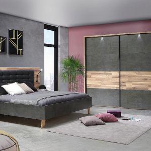Meble do sypialni z kolekcji Ricciano dostępne w sieci Salonów Agata. Fot. Salony Agata