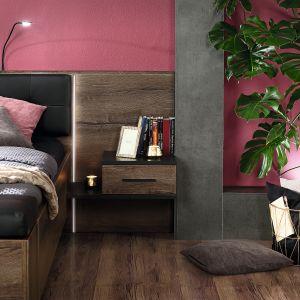 Meble do sypialni z kolekcji Bellevue dostępne w ofercie firmy Forte. Fot. Forte