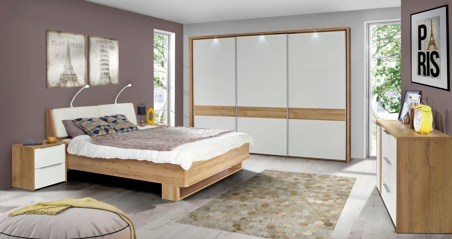 Meble do sypialni z kolekcji Verenice dostępne w sieci Salonów Agata. Fot. Salony Agata