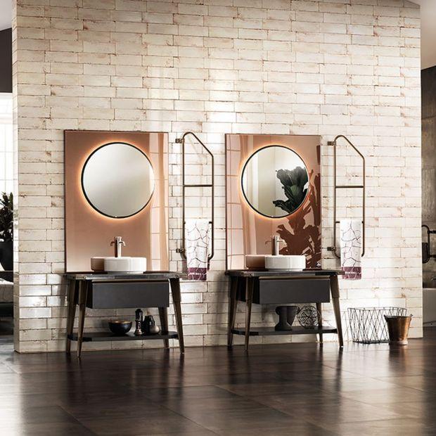 Lustro w łazience: 10 bajecznych pomysłów