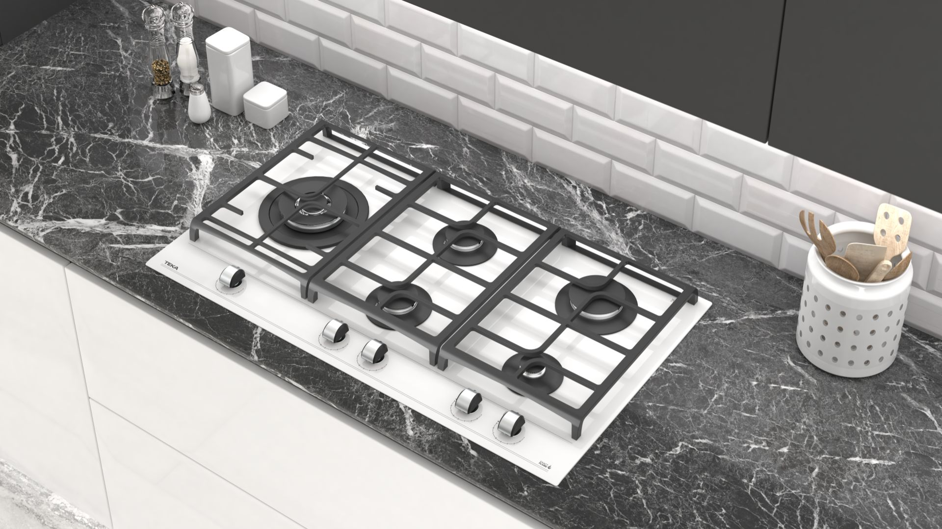 ExactFlame - seria płyt gazowych/Teka. Produkt zgłoszony do konkursu Dobry Design 2020.