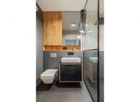 Proste, utrzymane w loftowej estetyce formy, podporządkowane są przede wszystkim funkcji i wygodzie użytkowania. Projekt i zdjęcia: Deer Design