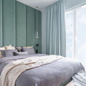 Ściana za łóżkiem. 25 dobrych pomysłów. Projekt: Alina Fabirowska. Fot. Pion Poziom Fotografia Wnętrz