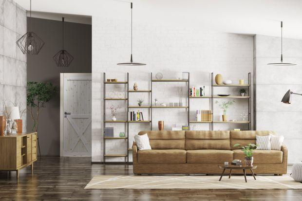 Salon w stylu loft - pomysły na aranżację