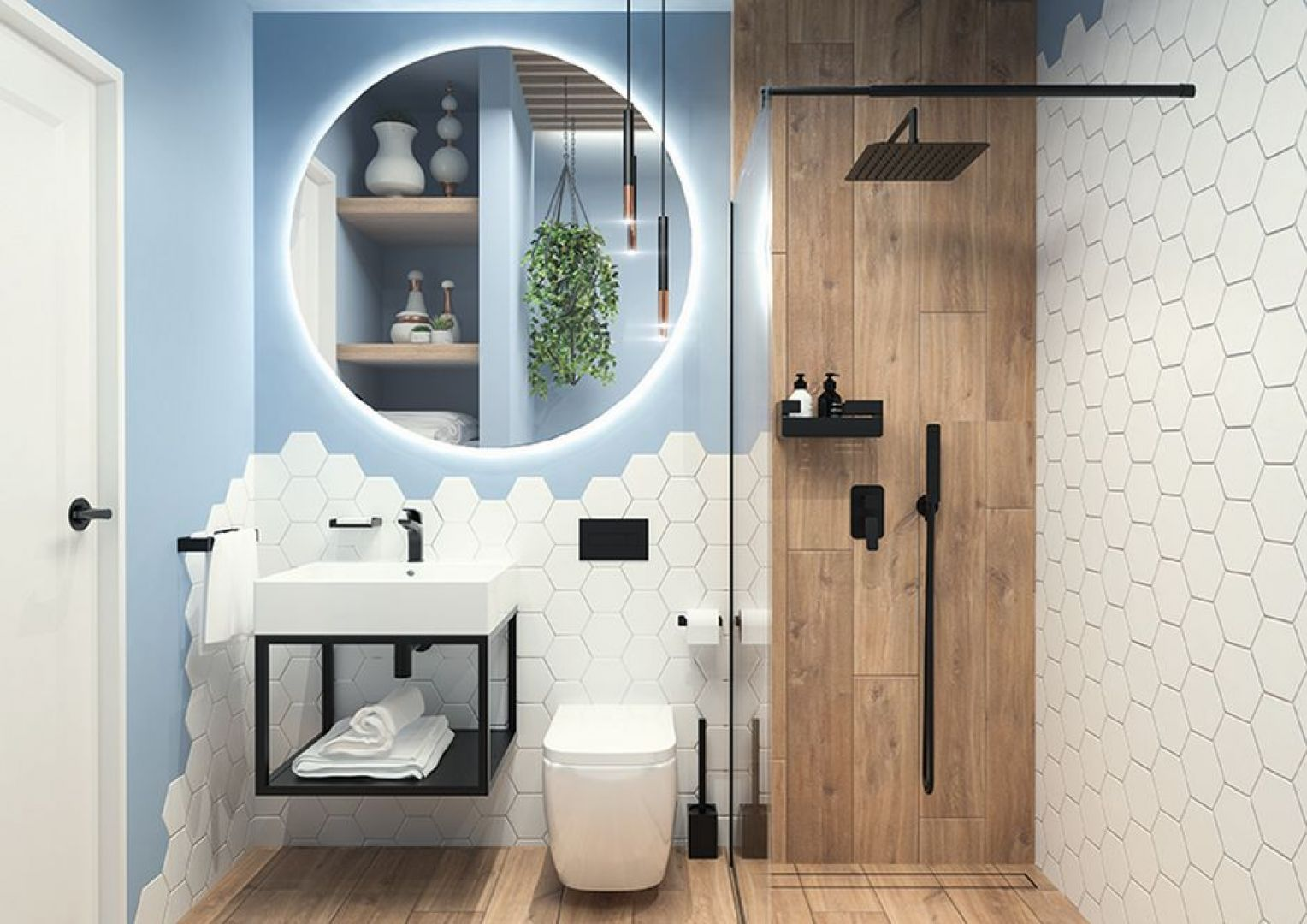 Kolekcja ceramiki sanitarnej Hiacynt. Fot. Deante