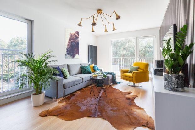 Nowoczesne, eleganckie mieszkanie - projekt z charakterem