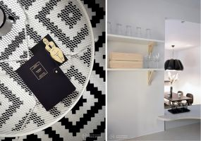 Uznali jednak za konieczne usunięcie kuchennych szafek wiszących oraz zabudowy meblowej z przedpokoju i sypialni, a także przykrycie podłogi w jednym z pokoi. Projekt: MAKA Studio.