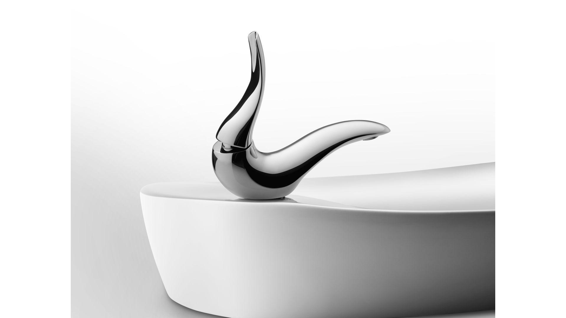 Bateria umywalkowa Artize Tailwater/Jaquar. Produkt zgłoszony do konkursu Dobry Design 2020.