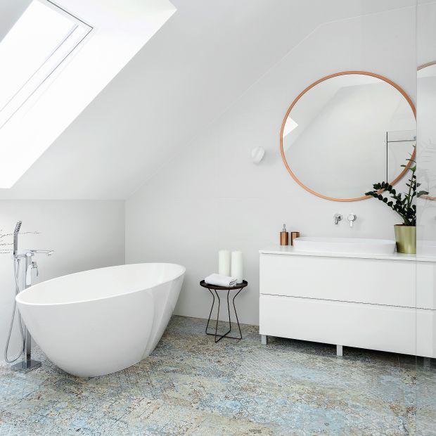 Piękny salon kąpielowy: zobacz gotowy projekt wnętrza