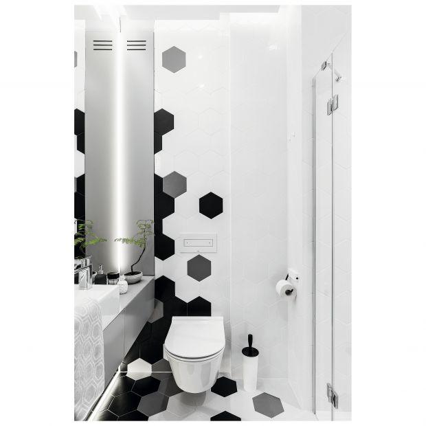 Łazienka z prysznicem: piękne wnętrze w nowoczesnym stylu