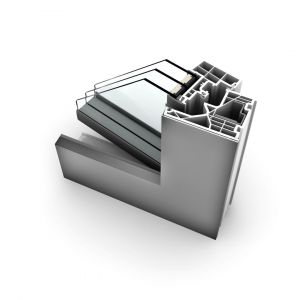 Okno KF 320/Internorm. Produkt zgłoszony do konkursu Dobry Design 2020.