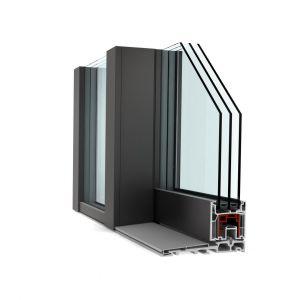 Drzwi podnoszono-przesuwne KS 430 ComfortDrive /Internorm. Produkt zgłoszony do konkursu Dobry Design 2020.