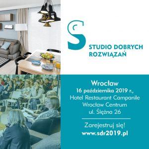 Studio Dobrych Rozwiązań zaprasza do Wrocławia 16 października!