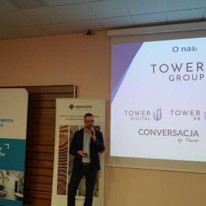 Studio Dobrych Rozwiązań w Bydgoszczy: Szymon Pietkiewicz, Tower Group Communications.