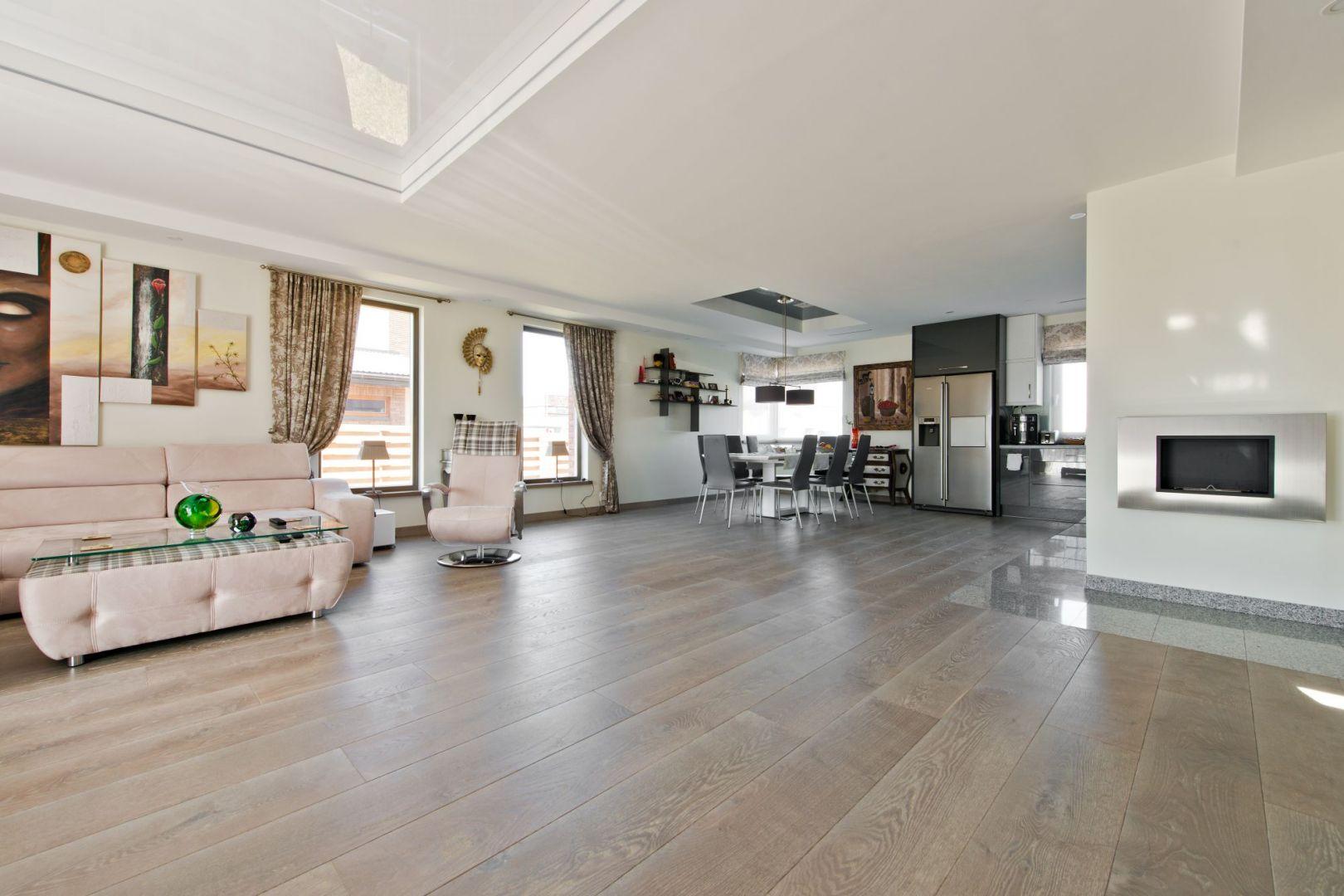 Drewniana podłoga - nowe kolekcje. Fot. Dekorian Home/Nobifloor