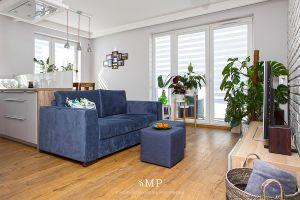 Zielony salon. Projekt i zdjęcia: Marzena Pieńkowska (Studio Modelowania Przestrzeni)