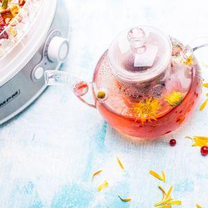 Herbata owocowa z kwiatami. Fot. MPM