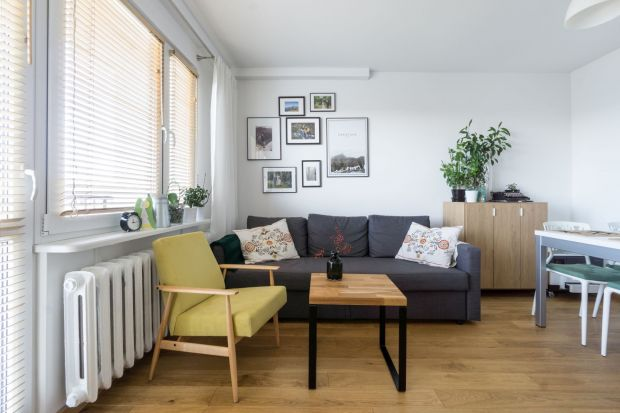 Metamorfoza 50-metrowego mieszkania - zobacz jasne, przytulne wnętrze