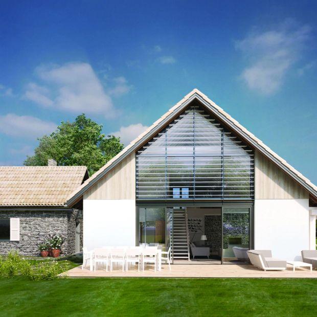 Projekt domu dla rodziny. Funkcjonalny rozkład i piękne wnętrza!
