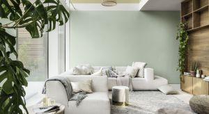 Miętowa Szarość to Kolor Roku 2020 ogłoszony przez AkzoNobel.To delikatny, pastelowy odcień zieleni, przełamanej szarością i błękitem, który odświeża i tonuje wnętrza.