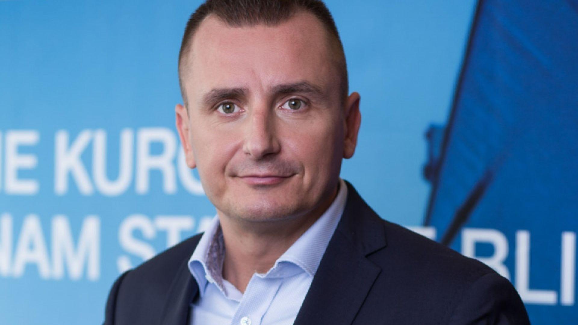 Juliusz Pakuński, kierownik rozwoju biznesu Dachser DIY-Logistics