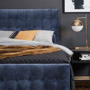 Przytulna sypialnia: łóżko kontynentalne New York marki Comforteo. Fot. Comforteo