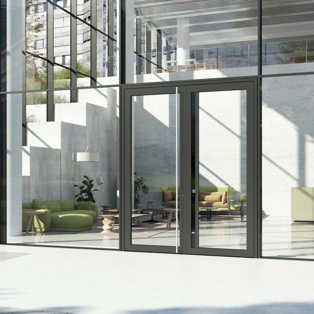 Drzwi wejściowe - poznaj rozwiązanie dwuskrzydłowe