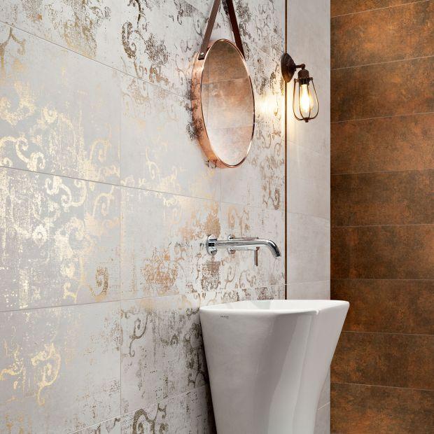 Płytki do łazienki - nowa kolekcja ze szczyptą luksusu