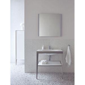 Umywalka Viu na stelażu Seria Xviu/Duravit. Produkt zgłoszony do konkursu Dobry Design 2020.