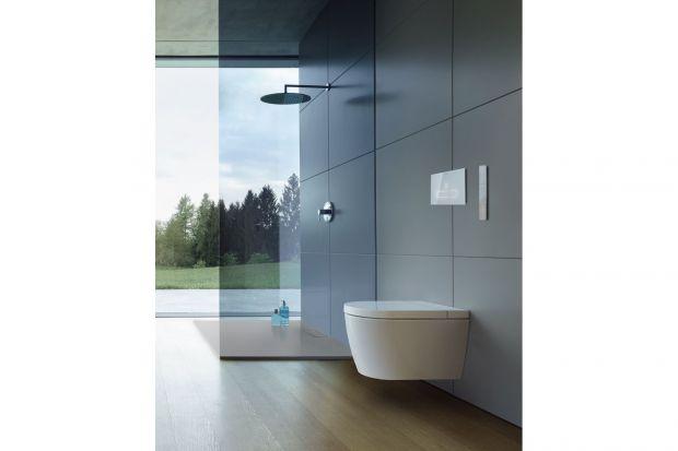 Deska myjąca SensoWash Starck F projektu Philippe Starck. Wygodna w obsłudze za pomocą pilota zdalnego sterowania, lub swobodnie konfigurowalna za pomocą aplikacji! zapewnia minimalistyczny design dla maksymalnego komfortu mycia. Produkt zgłoszony do