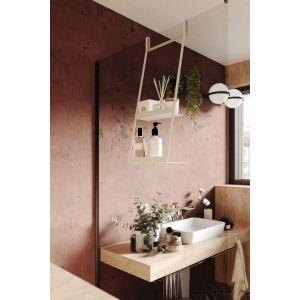 Kolekcja akcesoriów łazienkowych Mokko/Deante. Produkt zgłoszony do konkursu Dobry Design 2020.