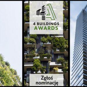 Rusza konkurs 4 Buildings Awards 2019. Zgłoś nominację!