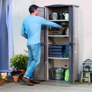 Otoczenie domu: przechowywanie narzędzi. Fot. Keter Poland