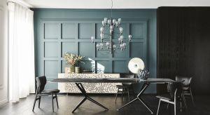 Włoski design to niekwestionowany synonim luksusu, czego przykładem są najnowsze propozycje do jadalni.