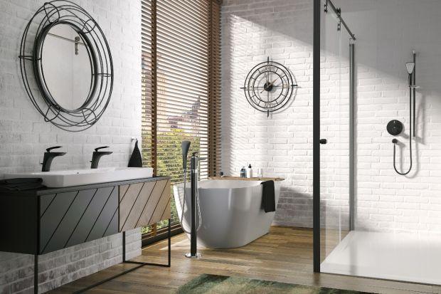 Modna łazienka - popularna seria armatury w wersji black