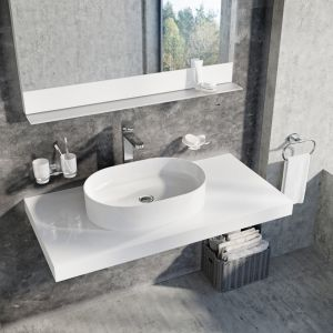 Ceramic Slim - nablatowe umywalki ceramiczne cienkościenne/Ravak Polska